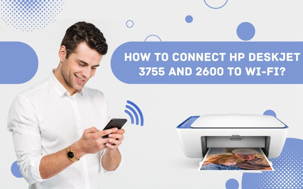 How To Connect Hp Deskjet 3755 To Wifi Mac